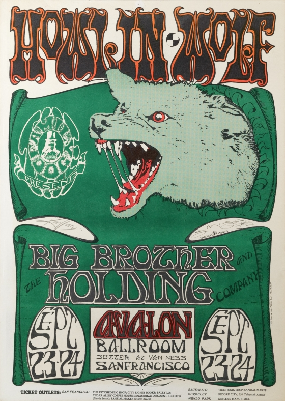 Wolf; Howlin' Wolf, Big Brother and the Holding Company; Avalon Ballroom