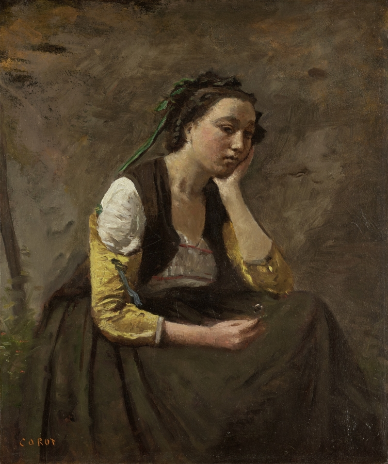 Woman Resting on Her Elbow (La Femme Accoudée)