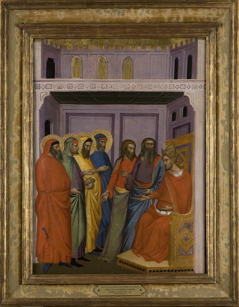 The Four Crowned Martyrs [before Diocletian?]