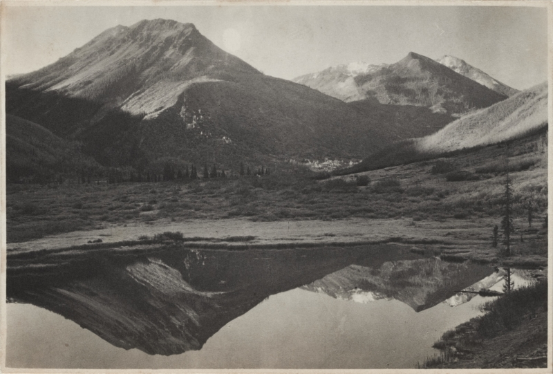Red Mountain Reflection, Ouray, Colorado