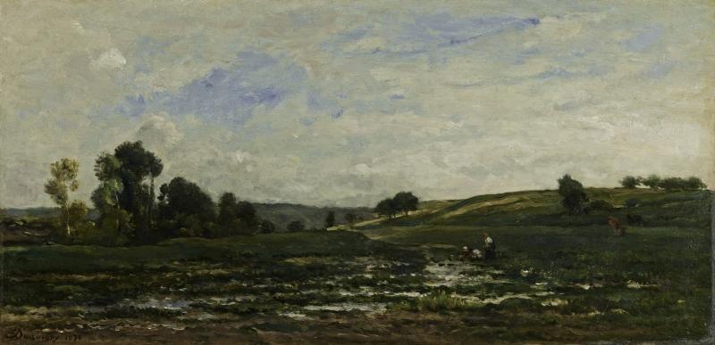 River Landscape (Paysage au bord de rivière)