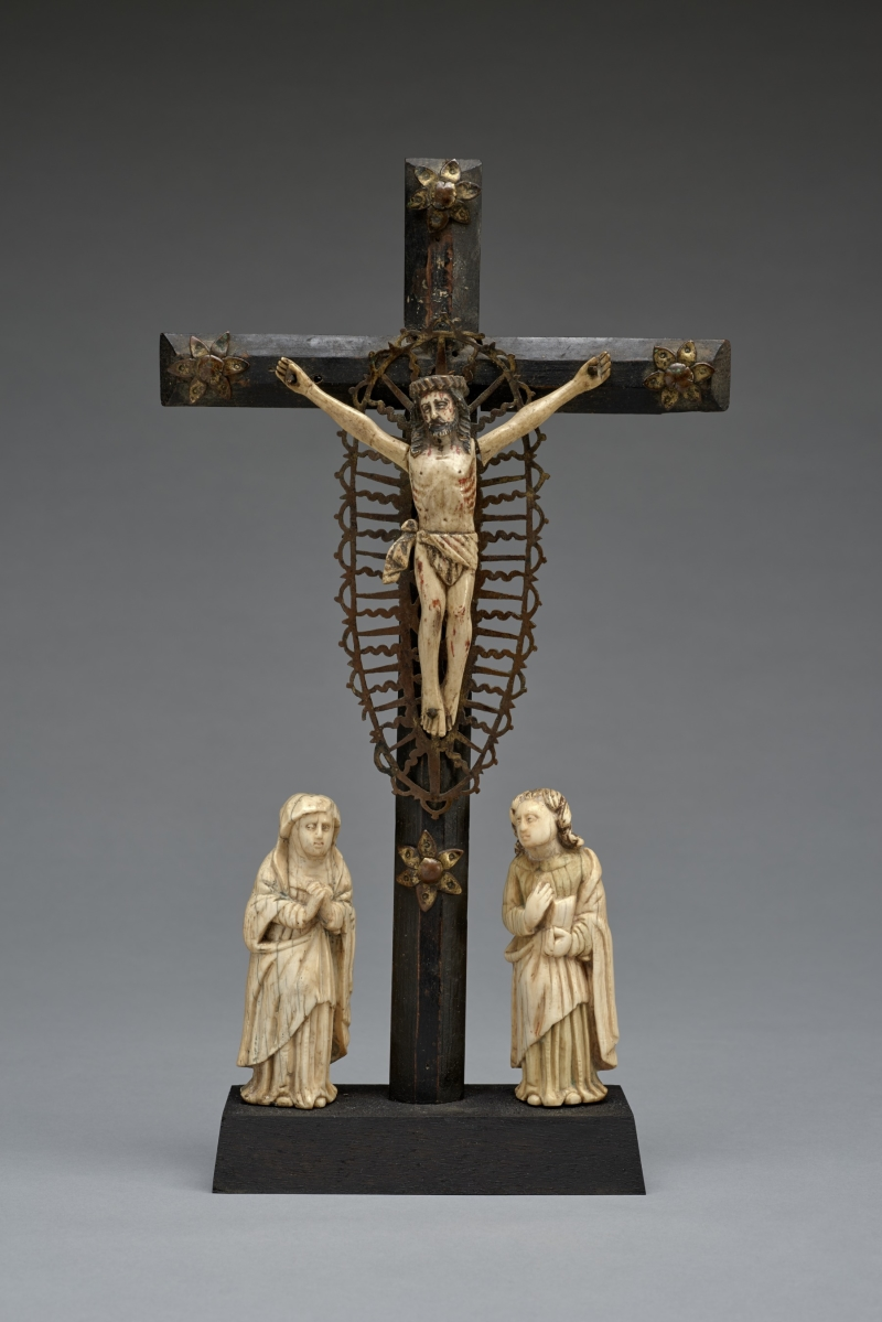 Crucifixion with Mourning Figures