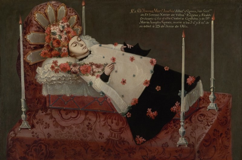 Death Portrait of Don Thomas Maria Joachin Villaseñor y Gomez