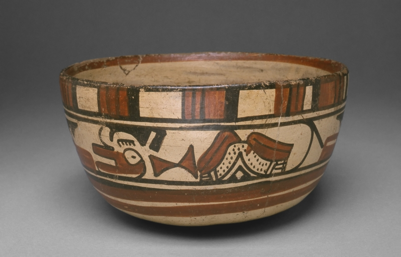 Bowl with Stylized Animal Imagery