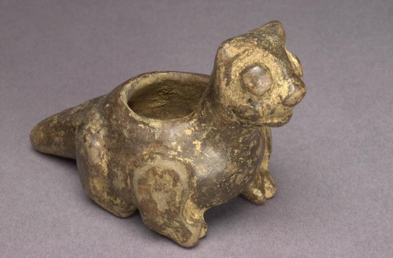 Feline-form Single-tube Inhaler