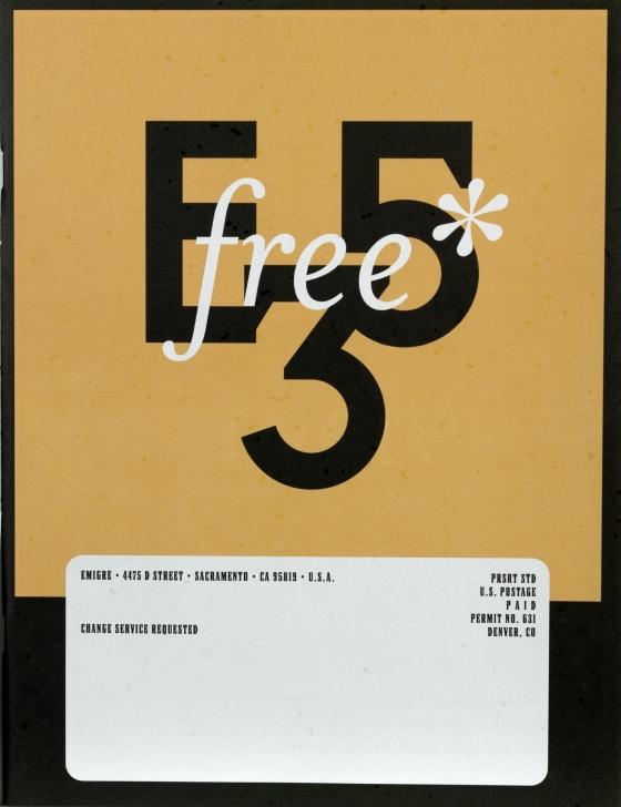 Emigre 53, Graphic Design Incl.