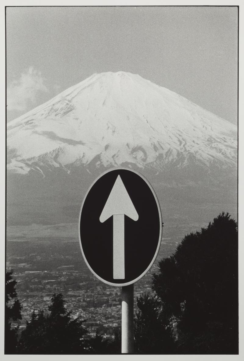 Mt. Fuji and Sign
