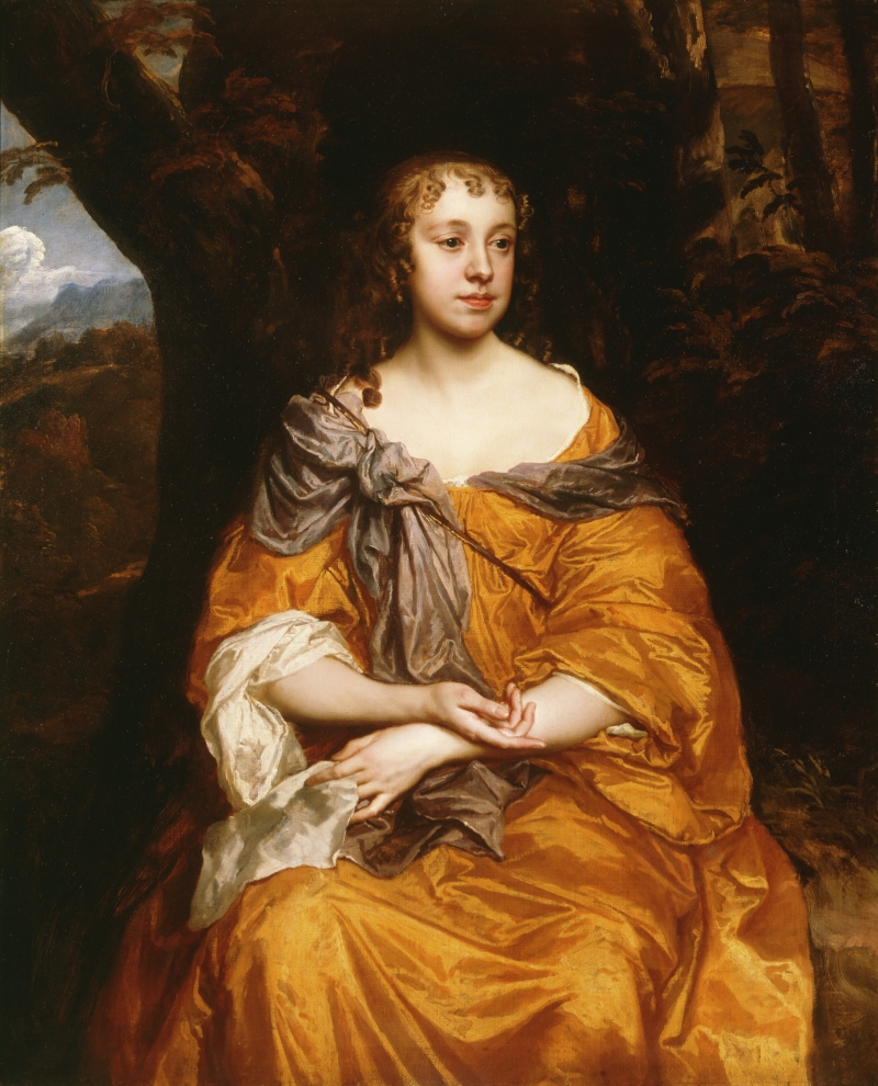 Portrait of a Young Lady, possibly Miss Wharton