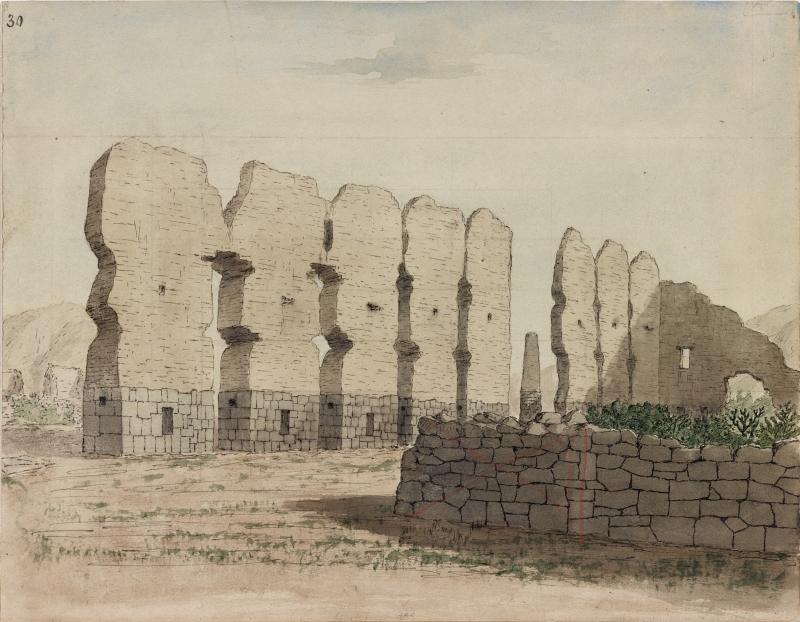 Ruins of Temple of Viracocha Peru