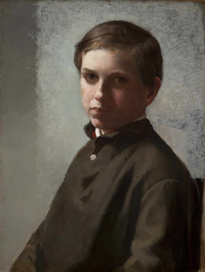 Portrait of a Young Boy (Garth Wilkinson James)