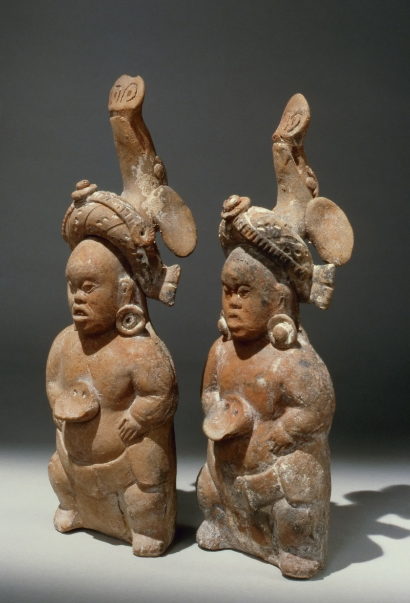 Pair of Jaina Style Figurines of Dwarves