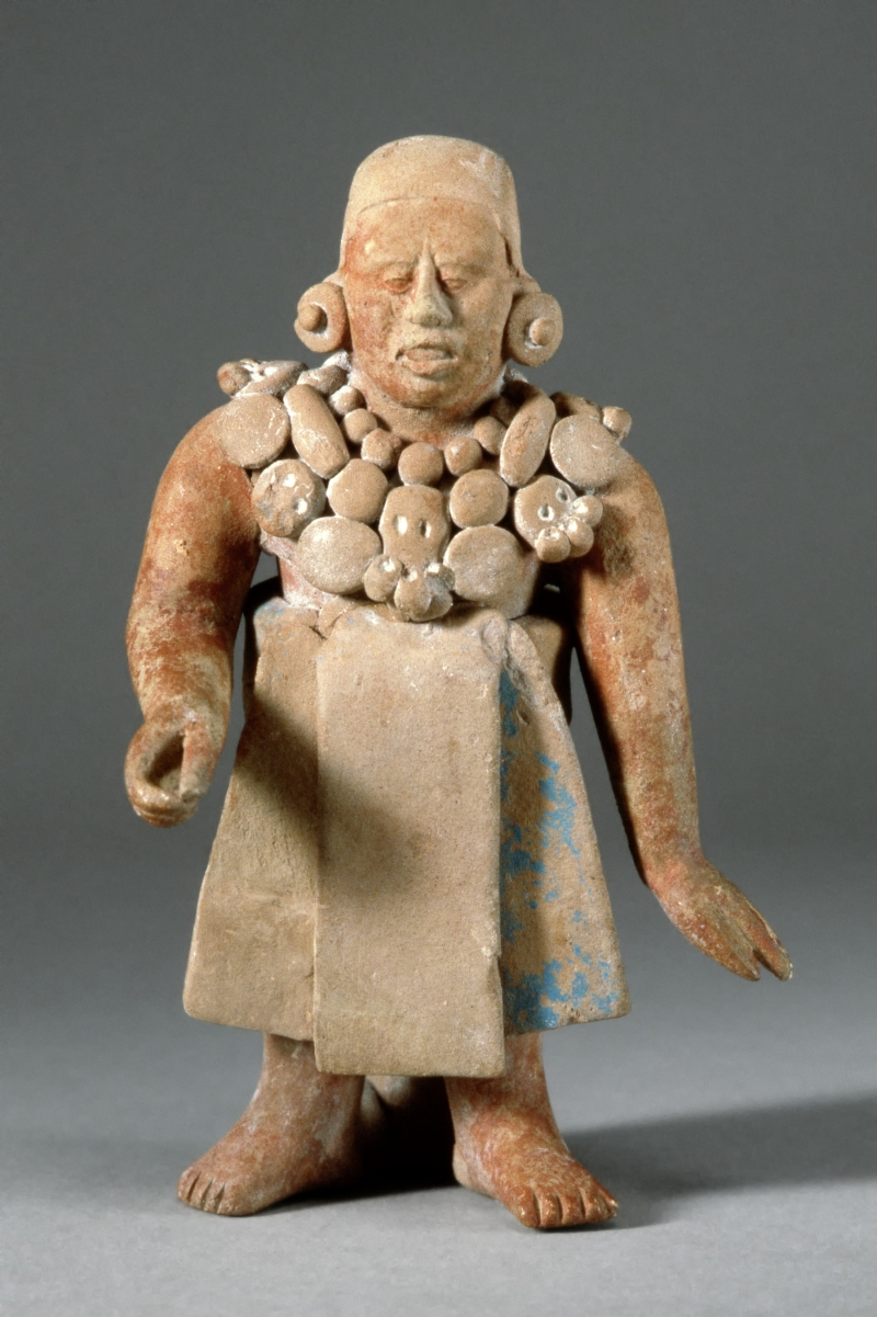 Jaina-style Figurine of a Standing Ballplayer