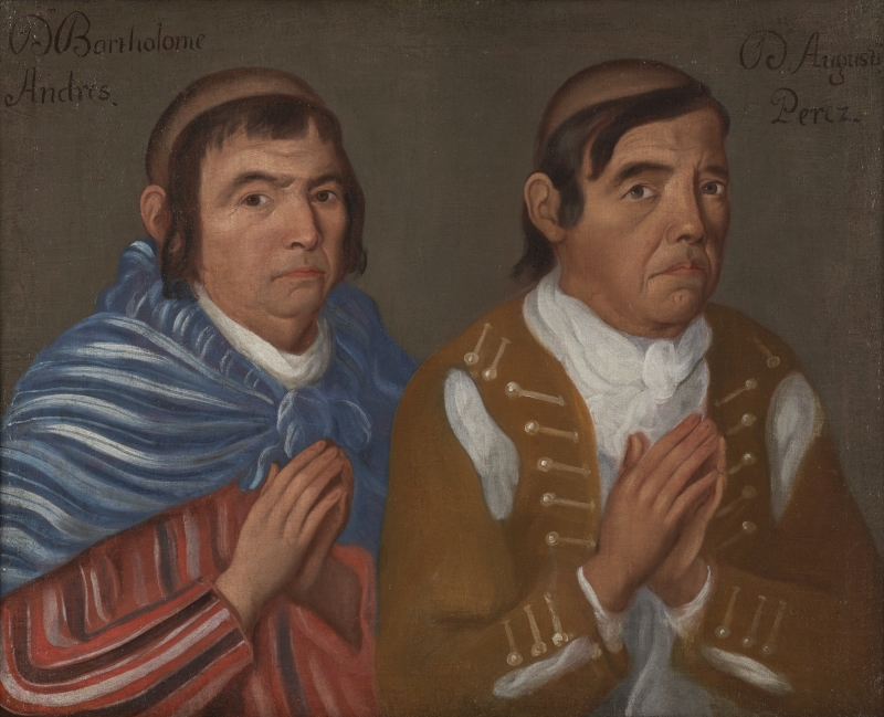 Double Portrait of Donors