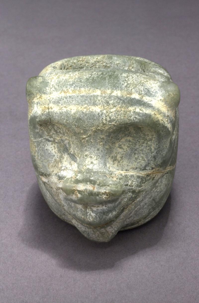 Zoomorphic Mace Head