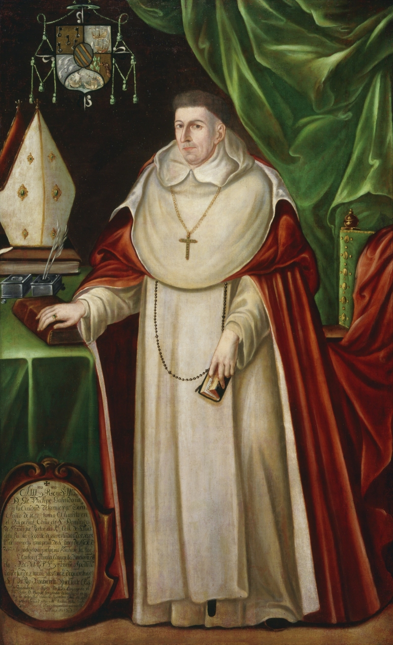 Portrait of Archbishop Fray Felipe Galindo Chávez y Pineda