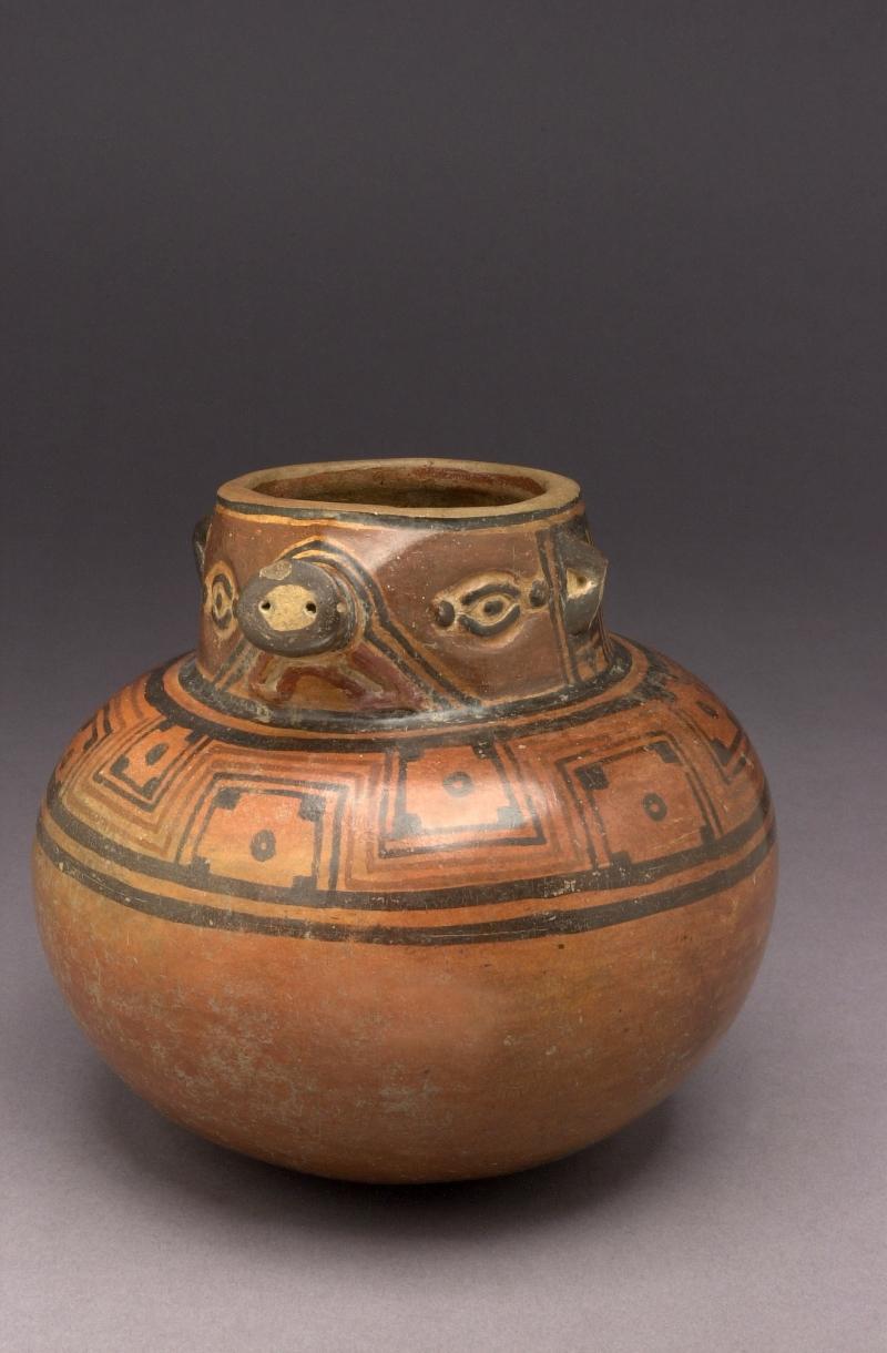 Coatmundi-form Jar