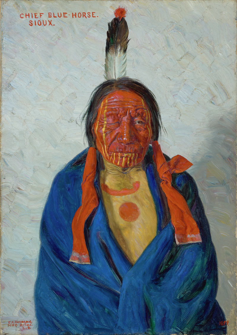 Chief Blue Horse