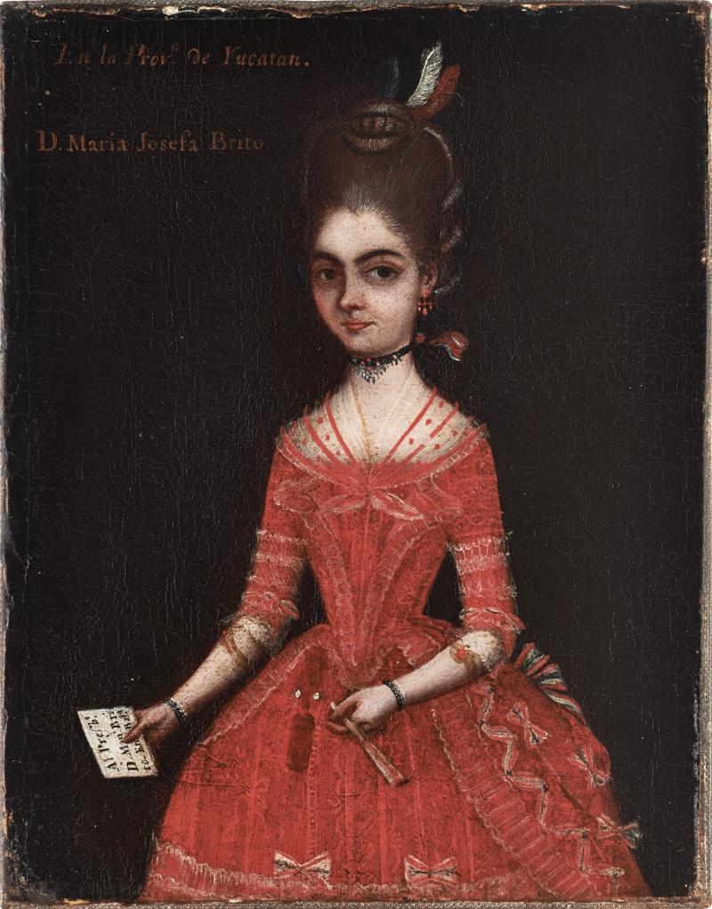 Portrait of Maria Josefa Brito