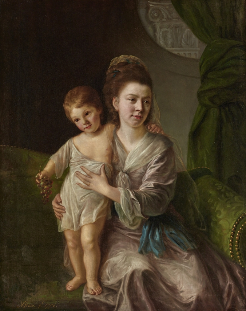 Ann Gardiner with Her Eldest Son, Kirkman