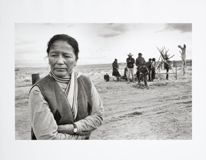 Ruth Roechelle, A Dine Woman, Red Rock, Arizona