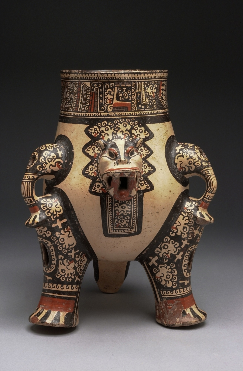 Tripod Jar in Form of Jaguar