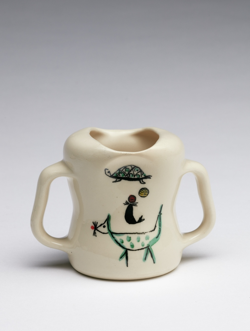 Wee Modern Two-Handled Mug