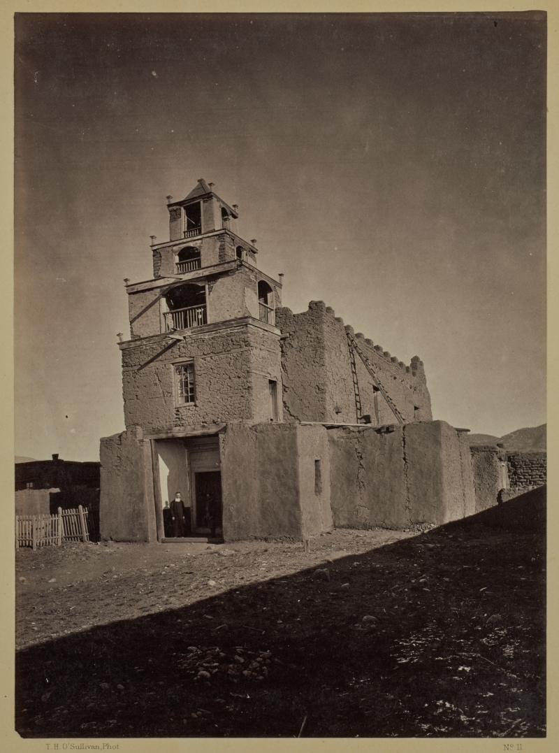 The Church of San Miguel. The Oldest in Santa Fé, N.M.