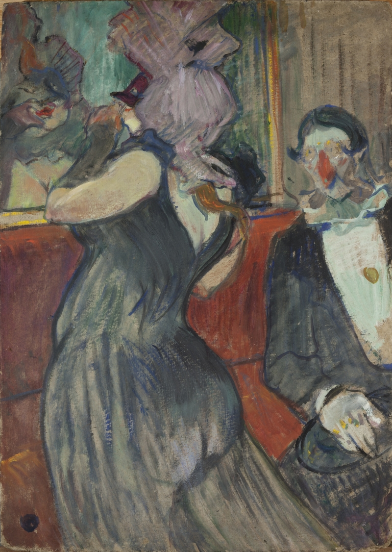 Respite from the Masked Ball (Repos Pendant le Bal Masqué)