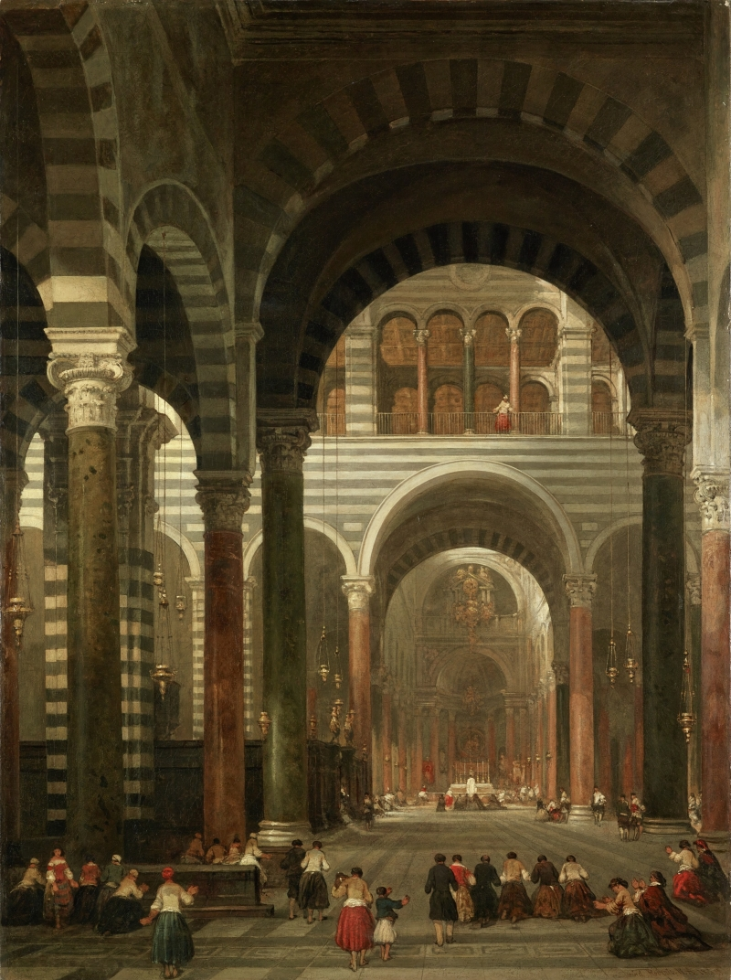 Interior of the Cathedral, Pisa