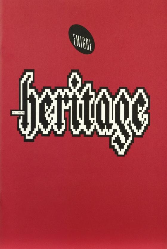 Emigre 14: Heritage