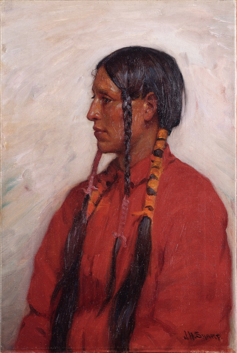 Young Crow Indian
