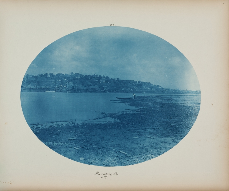Muscatine, Ia. from the album Views on the Mississippi River between Minneapolis, Minn and St. Louis, Mo., 1883-1891