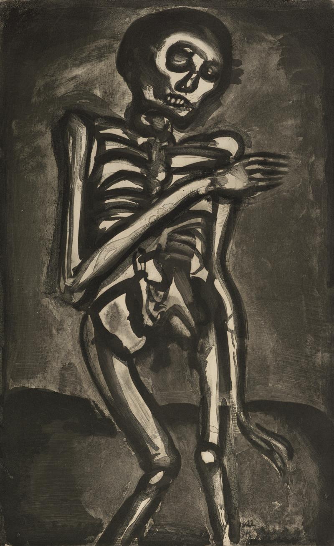 La Mort l'a Pris Comme il Sortait du Lit d'Orties; from Folio Miserere
