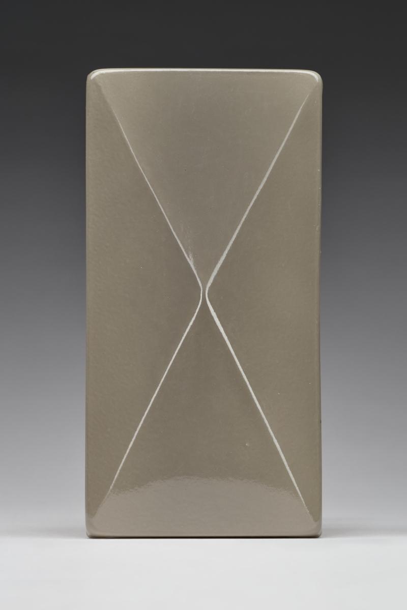 Gray Pyramidal Tile