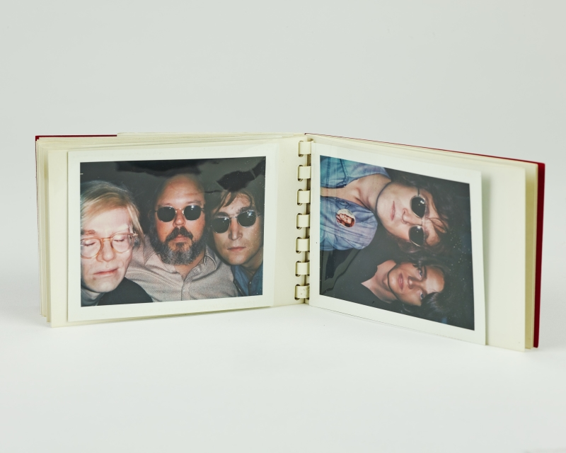 Warhol, Andy; Geldzahler, Henry; and Lennon, John from Little Red Book #176