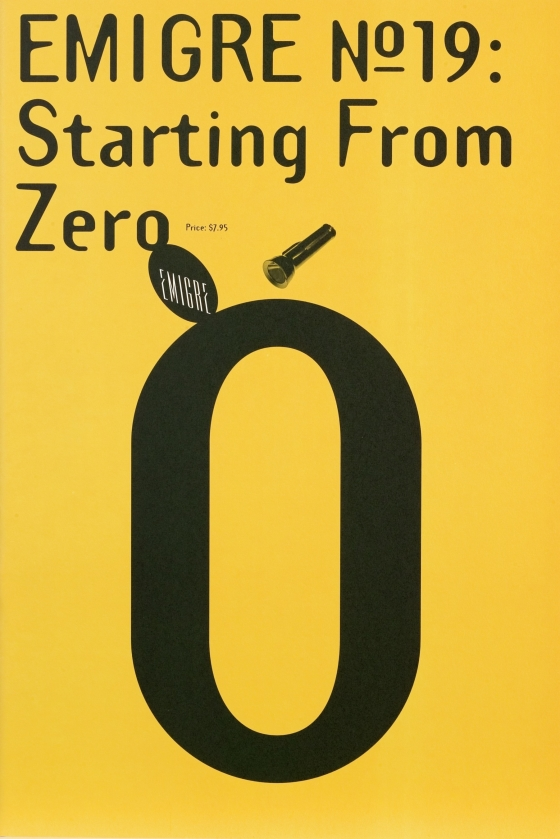 Emigre 19: Starting From Zero