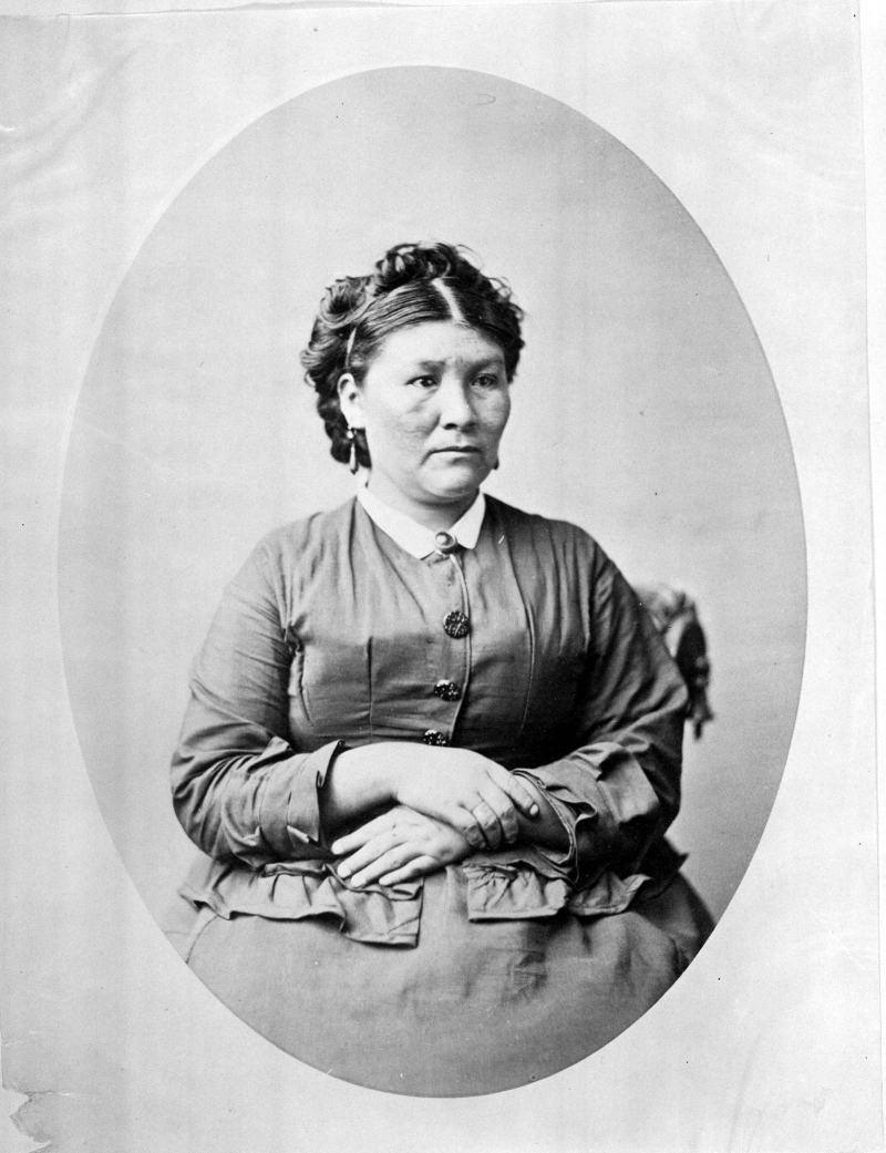 Kaitchkona Winema (Woman Sub-Chief), Modoc, called Toby Riddle, wife of Frank Riddle
