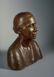 Bust Portrait of Anne Evans