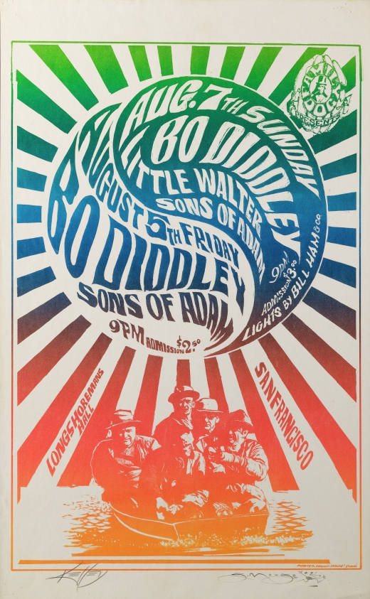 Men in a Rowboat; Bo Diddley and Sons of Adam at Longshoreman's Hall