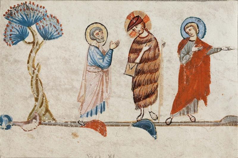 Christ on the Road to Emmaus