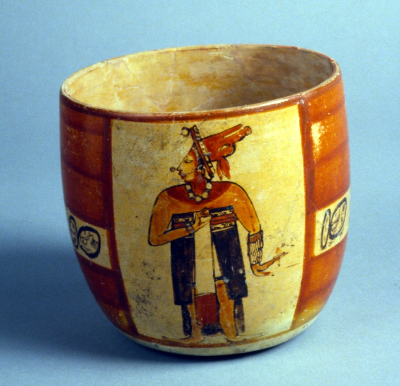 Vessel with Ballplayers