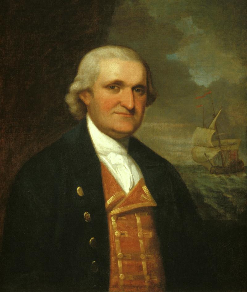 Portrait of Captain Byfield Lyde