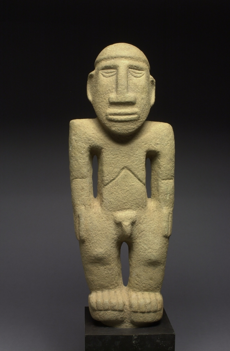 Standing Male Peg-based Statue