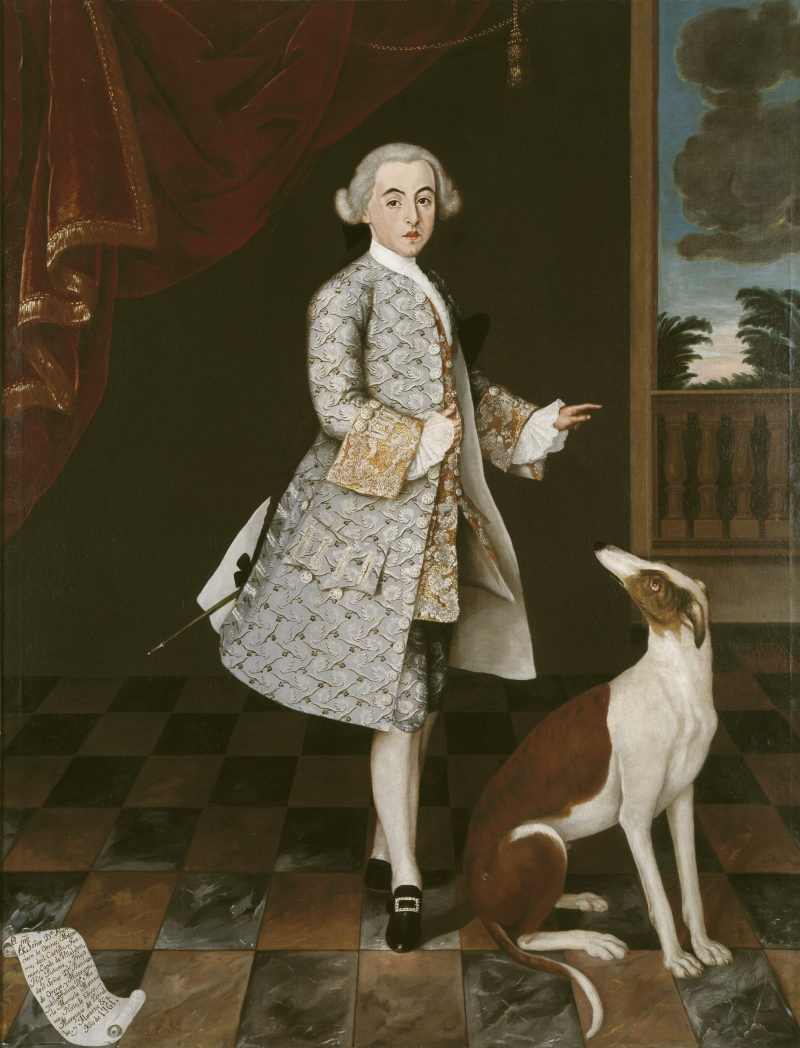 Portrait of Don Francisco de Orense y Moctezuma, Conde de Villalobos