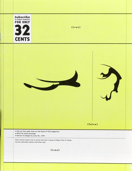 Emigre 42: The Mercantile Issue