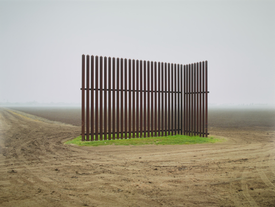 Wall, Near Los Indios, Texas