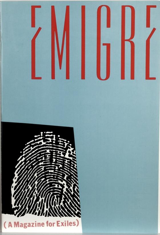 Emigre 1: (A Magazine For Exiles)