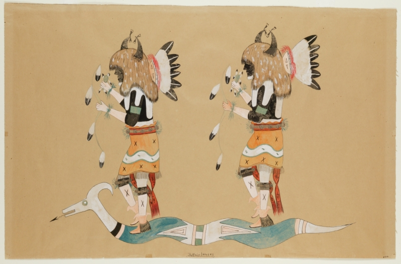 Two Buffalo Dancers