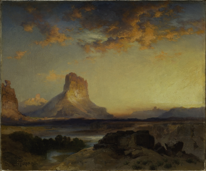 Sunset, Green River Butte