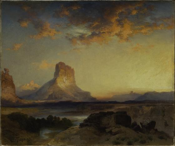Sunset, Green River Butte
